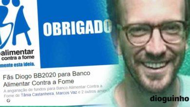 Photo of Fãs de Diogo estão a angariar dinheiro para o Banco Alimentar Contra a Fome