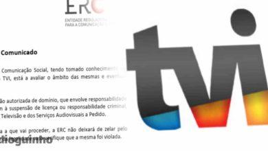 """Photo of ERC investiga e avisa TVI. Pode existir uma """"suspensão de licença"""""""