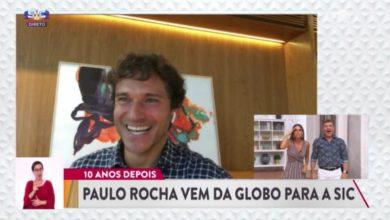Photo of Contratação-surpresa da SIC, Paulo Rocha exibe boa forma física na praia