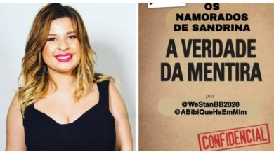 """Photo of Sandrina foi investigada e foram reveladas """"As mentiras da Sandrina"""""""