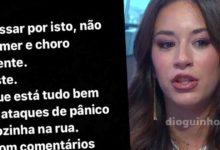 Photo of Jéssica Nogueira sofre com comentários. ATAQUES de pânico, dorme nem come… e tem medo!