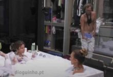 Photo of Diogo faz 'strip' e Ana Catharina  fica envergonhada