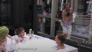 Photo of Diogo faz 'strip' e Ana Catharina  fica envergonhada