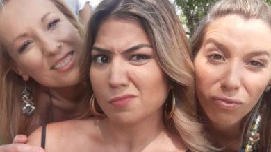 """Photo of Angélica partilha fotografia com Teresa e Sónia: """"Venha o diabo e escolha"""""""