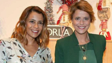 Photo of Leonor Poeiras e Rita Ferro Rodrigues de costas voltadas? Parece que sim…