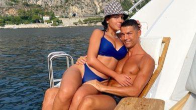 """Photo of Cristiano Ronaldo declara-se a Georgina Rodríguez """"Feliz por partilhar estes momentos lindos contigo"""""""