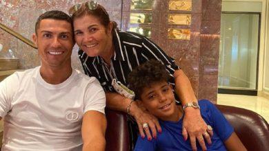 """Photo of Dolores Aveiro reencontra-se com Cristiano Ronaldo e Cristianinho """"Dia Especial"""""""