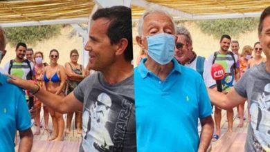 """Photo of Marcelo Rebelo de Sousa novamente """"entalado"""" devido ao Covid-19"""