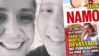 """Photo of Sara Norte DE RASTOS com morte da irmã """"leucemia regressou há 15 dias"""""""