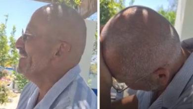 """Photo of Manuel Luís Goucha partilha vídeo engraçado: """"Não posso beber vinho branco"""""""