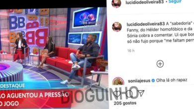 Photo of Big Brother: Marido de Diana manda boca, Sónia responde e acaba em CONFUSÃO!!