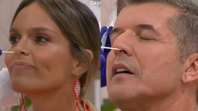 Photo of Diana Chaves e João Baião foram testados ao Covid-19… em direto!