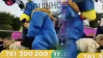 Photo of Luciana Abreu acabou por ser montada em directo na SIC. Vergonha alheia