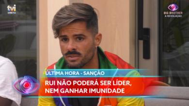 Photo of Rui Pedro foi punido pelo 'Big'. Recusa-se a pedir desculpa à Joana