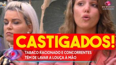 Photo of CASTIGADOS! Tabaco racionado e lavar louça à mão. Carina FRITOU