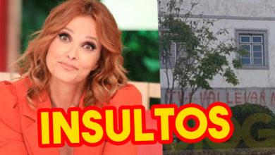 """Photo of Tribunal de Fafe VANDALIZADO com INSULTOS a Cristina Ferreira e TVI """"PUT*"""""""