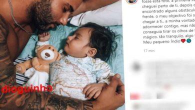 Photo of Cláudio Viana foi pai há uns meses mas só agora esteve com o filho