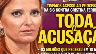 Photo of TUDO REVELADO. Tiveram acesso a processo de Cristina Ferreira