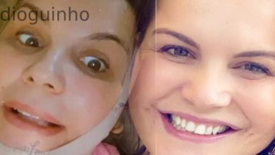 Photo of Kátia Aveiro recauchutou a cara? Ela esclarece tudo!