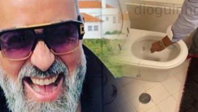 Photo of Marido de Sandra RASGA nota de 100 euros.. e depois coloca na sanita