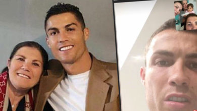 Photo of Dolores Aveiro partilha videochamada com Cristiano Ronaldo