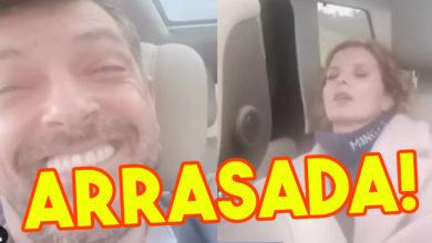 """Photo of Cristina Ferreira ARRASADA por estar sem máscara e cinto de segurança: """"Pena não dar o exemplo"""""""