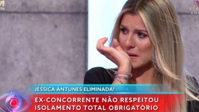 Photo of Jéssica A. CHORA por causa do ódio que está a receber nas redes sociais