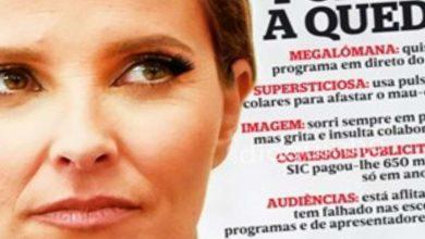 """Photo of Cristina Ferreira """"picou"""" Revista Sábado e levou estouro"""