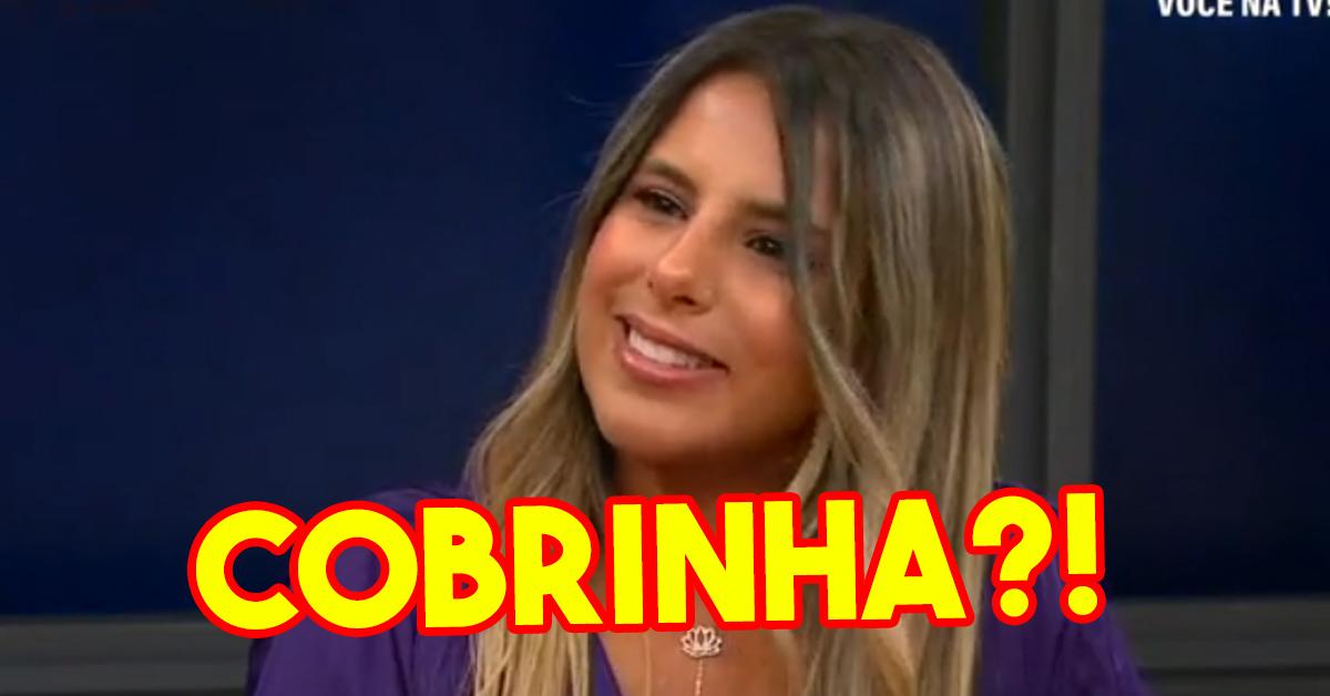 """Joana ARRASA concorrentes do BB - Revolução """"União muito ..."""