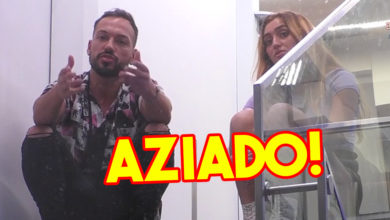 Photo of André continua AZIADO com avião e deu FAÍSCA com Zena